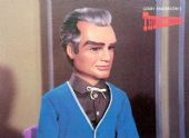 Thunderbirds - 'Jeff Tracy' Postcard